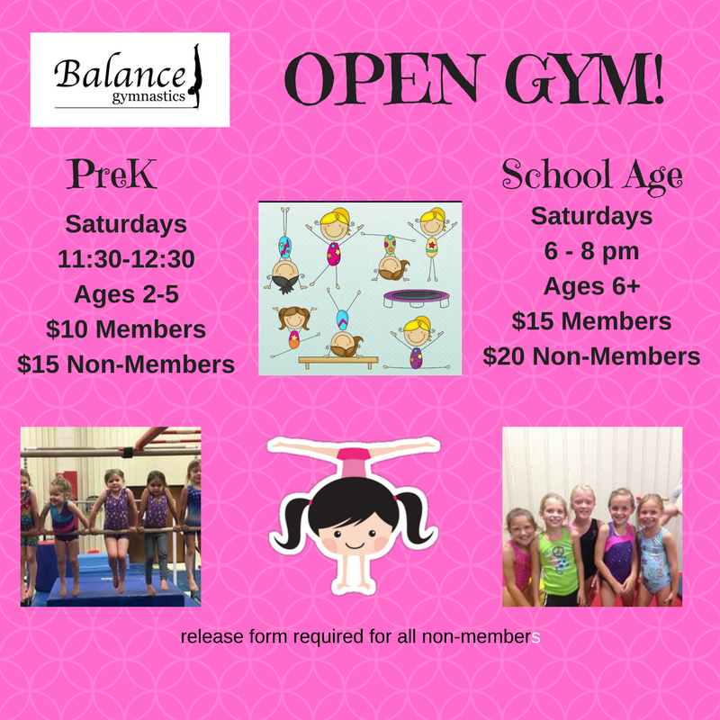 Balance Gymnastics Open Gym