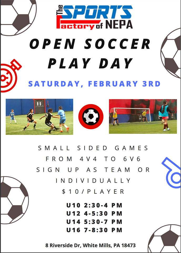 Open Soccer Play Days