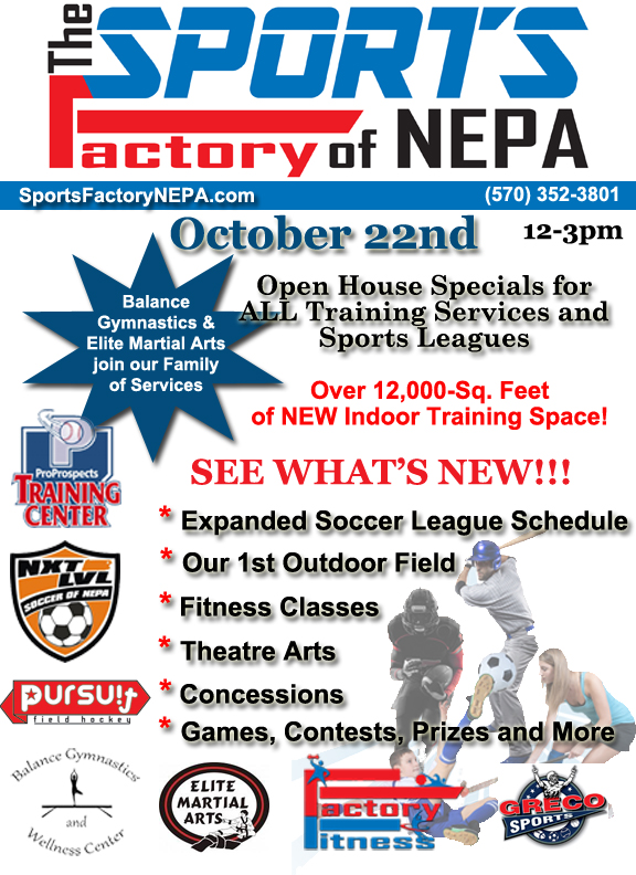 Sports Factory Open House