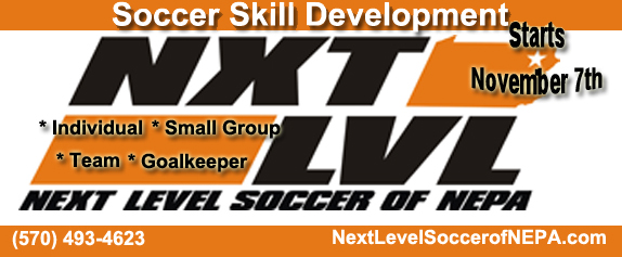 Next Level Soccer Club Team Training