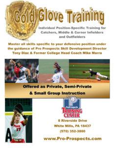 Pro Prospects Gold Glove Training