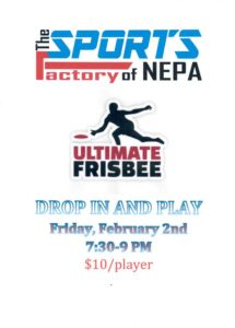 Ultimate Frisbee Drop In and Play