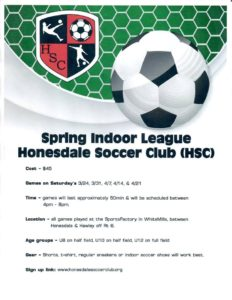 Spring Soccer League @ The Sports Factory