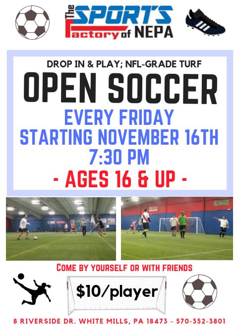 Adult Open Soccer