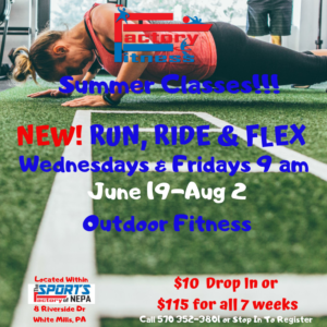 Factory Fitness Run, Ride & Flex Classes