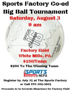 Big Ball Tournament @ Factory Field