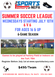 Adult Soccer League